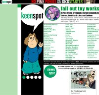 keenspot.com screenshot
