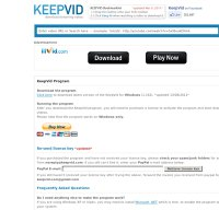 keepvid.com screenshot