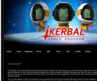 kerbalspaceprogram.com screenshot
