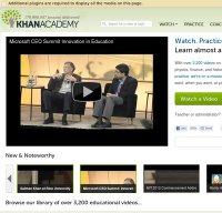khanacademy.org screenshot