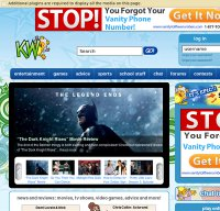 kidzworld.com screenshot