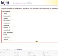 kijiji.ca screenshot