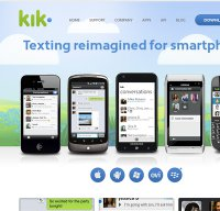 kik.com screenshot