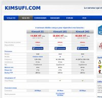 kimsufi.com screenshot