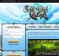 kingsandlegends.com screenshot