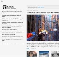 kinja.com screenshot