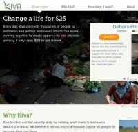 kiva.org screenshot
