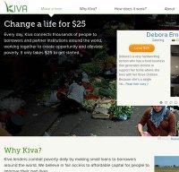 kiva.org screenshot