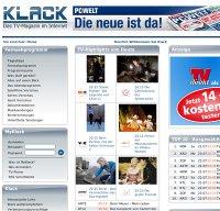 klack.de screenshot