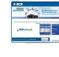 klikbca.com screenshot