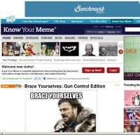 knowyourmeme.com screenshot