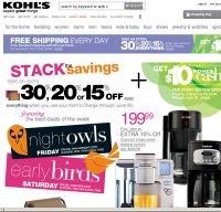 kohls.com screenshot