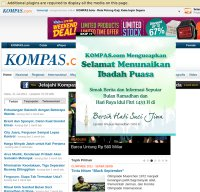 kompas.com screenshot