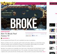 kotaku.com screenshot