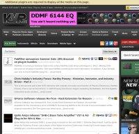 kvraudio.com screenshot