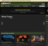 l4dmaps.com screenshot