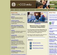 laccd.edu screenshot