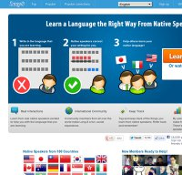 lang-8.com screenshot