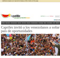 lapatilla.com screenshot