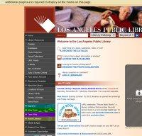 lapl.org screenshot