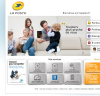laposte.fr screenshot