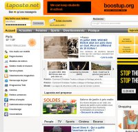 laposte.net screenshot