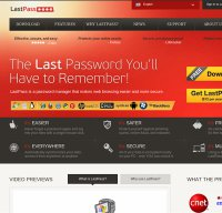 lastpass.com screenshot