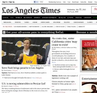 latimes.com screenshot