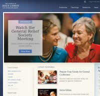 lds.org screenshot