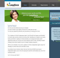 leapforceathome.com screenshot