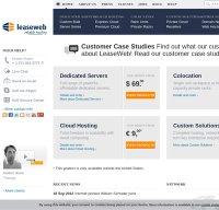 leaseweb.com screenshot