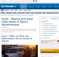 lefigaro.fr screenshot