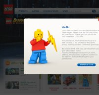 lego.com screenshot