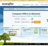 lendingtree.com screenshot