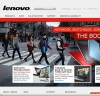 lenovo.com screenshot