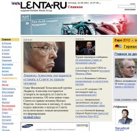 lenta.ru screenshot