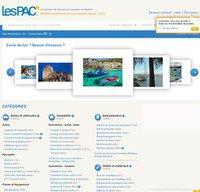 lespac.com screenshot