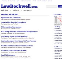 lewrockwell.com screenshot