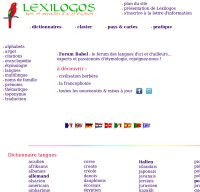 lexilogos.com screenshot