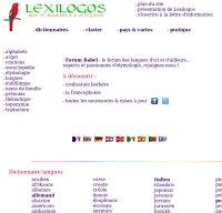 lexilogos.com screenshot