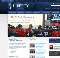 liberty.edu screenshot