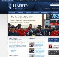 liberty.edu screenshot