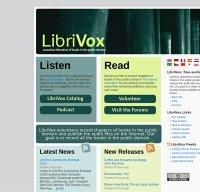 librivox.org screenshot