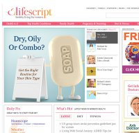 lifescript.com screenshot
