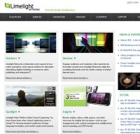 limelight.com screenshot