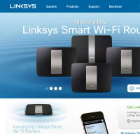 linksys.com screenshot