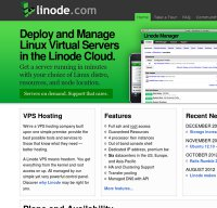 linode.com screenshot
