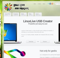 linuxliveusb.com screenshot
