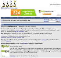 linuxquestions.org screenshot