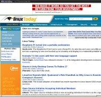 linuxtoday.com screenshot